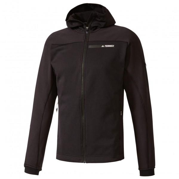 adidas Terrex Stockhorn Fleece Hooded Jacket Fleecejack maat 54 zwart