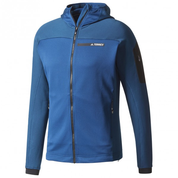 Briesen Angebote adidas - Terrex Stockhorn Fleece Hooded Jacket Fleecejacke Gr 56 blau