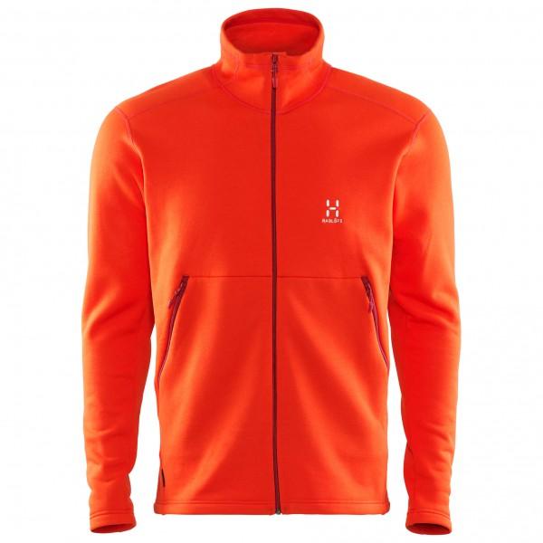 Bungy Jacket - Fleecejacke Gr XL habanero