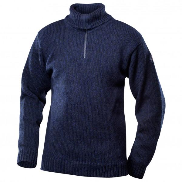 Devold - Nansen Sweater Zip Neck - Merino Jumper Size S  Black/blue