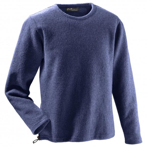 Mufflon - Leon - Merinopullover Gr S blau 41175