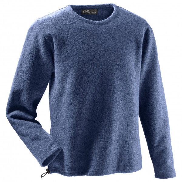 Mufflon - Leon - Merinopullover Gr M blau 41175