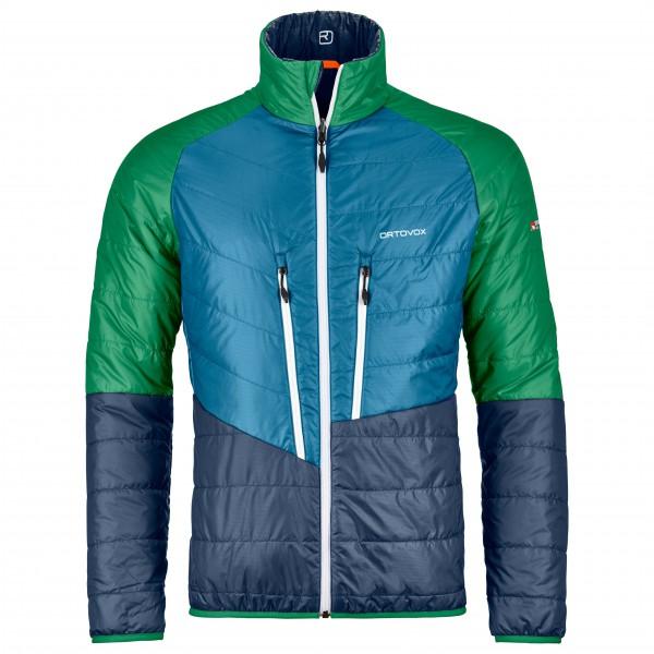 Ortovox - Swisswool Piz Boval Jacket Wolljacke Gr M blau