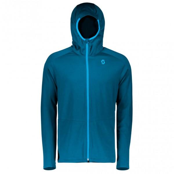 Scott - Sco Jacket Defined Merino Wolljacke Gr L blau