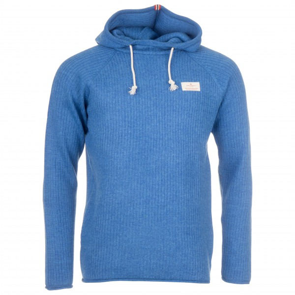 Amundsen Sports - Boiled Hoodie Ribbed - Wolljacke Gr L blau Preisvergleich