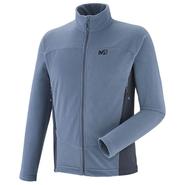 Millet - Vector Grid Jacket - Fleecejacke Gr XL grau/blau
