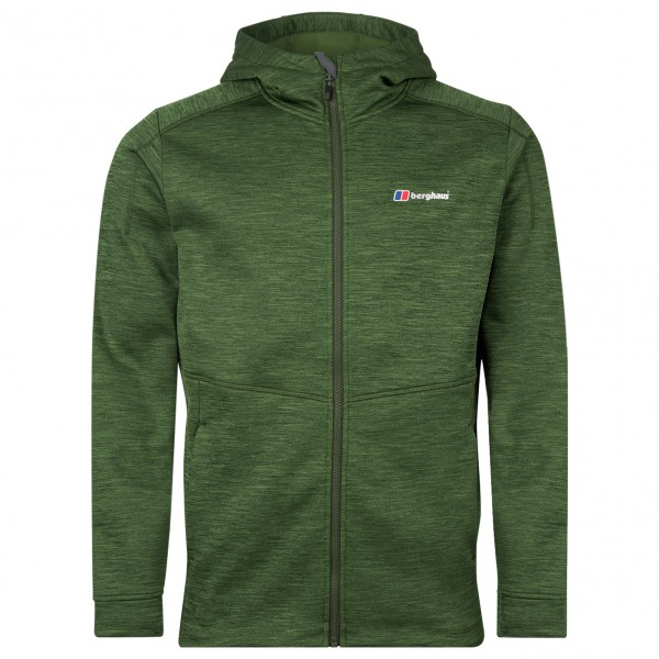 Berghaus - Kamloops Hooded Fleece Jacket - Fleecejacke Gr M oliv