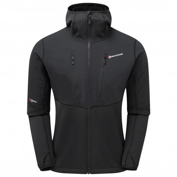 Montane - Alpha Balance Jacket - Fleecejacke Gr M schwarz Preisvergleich