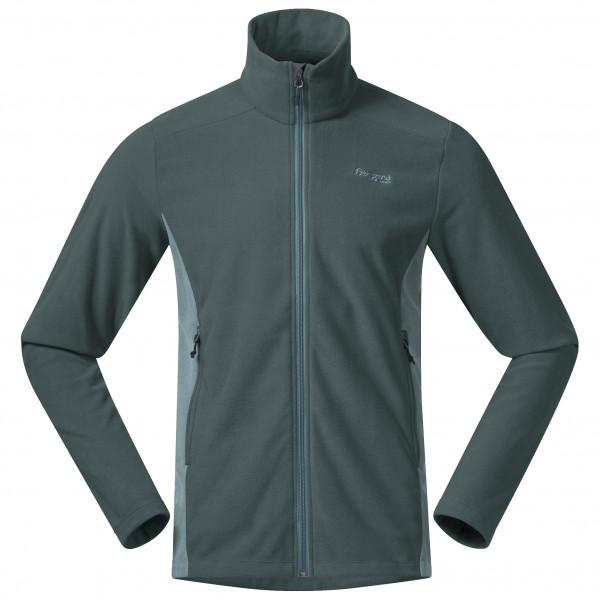 Bergans - Finnsnes Fleece Jacket - Fleece Jacket Size S  Black/turquoise