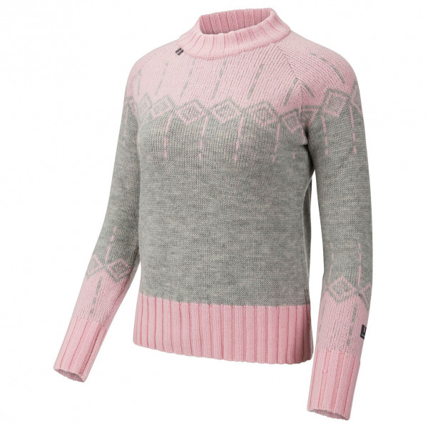 #Ulvang – Moa Roundneck – Pullover Gr L;M;S;XL;XS grau/rosa#