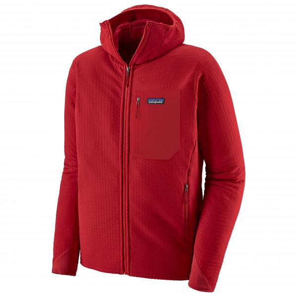 Patagonia - R2 Techface Hoody - Fleece Jacket Size Xl  Red