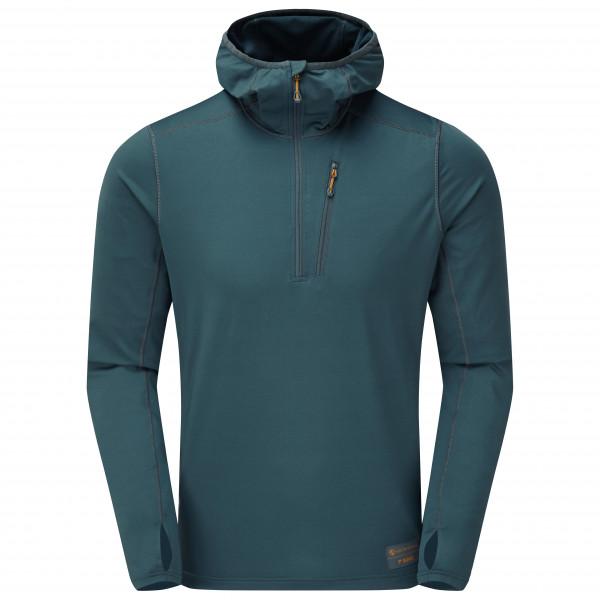 Montane - Jam Hoodie Pull-on - Fleece Jumper Size S  Black/blue/turquoise