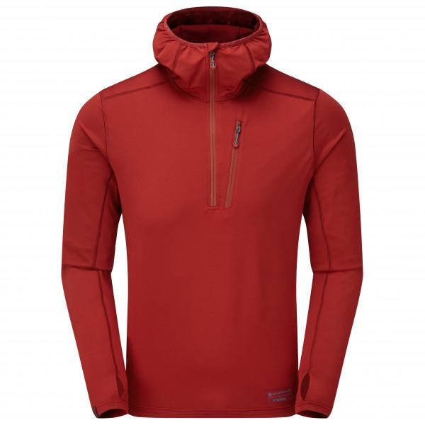 Montane - Jam Hoodie Pull-on - Fleece Jumper Size S  Red