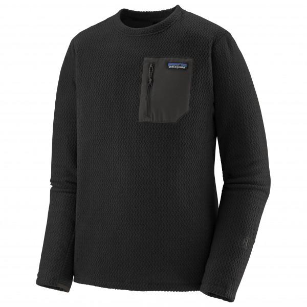 Patagonia - R1 Air Crew - Fleece Jumper Size Xl  Black