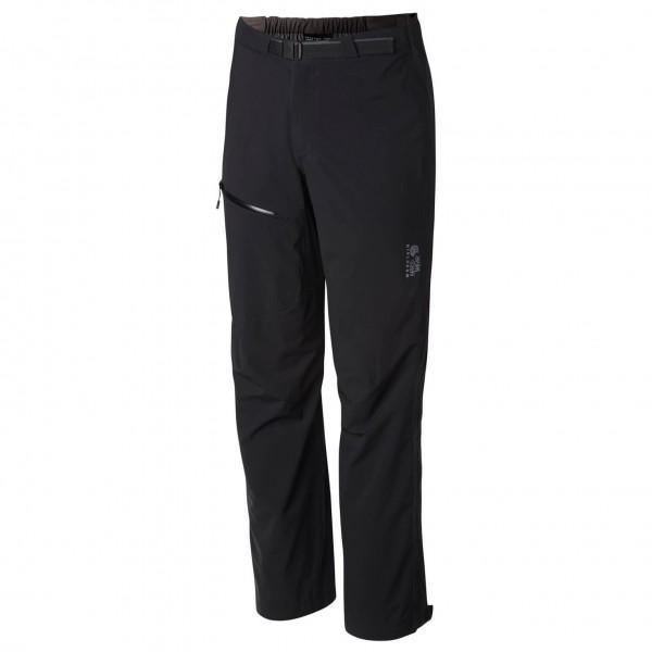 Mountain Hardwear - Stretch Ozonic Pant - Hardshellhose - Gr. XL, schwarz