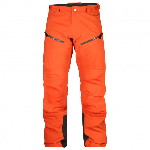 Fjällräven - Bergtagen Eco-Shell Trousers - Hardshellhose Gr 50 rot/orange