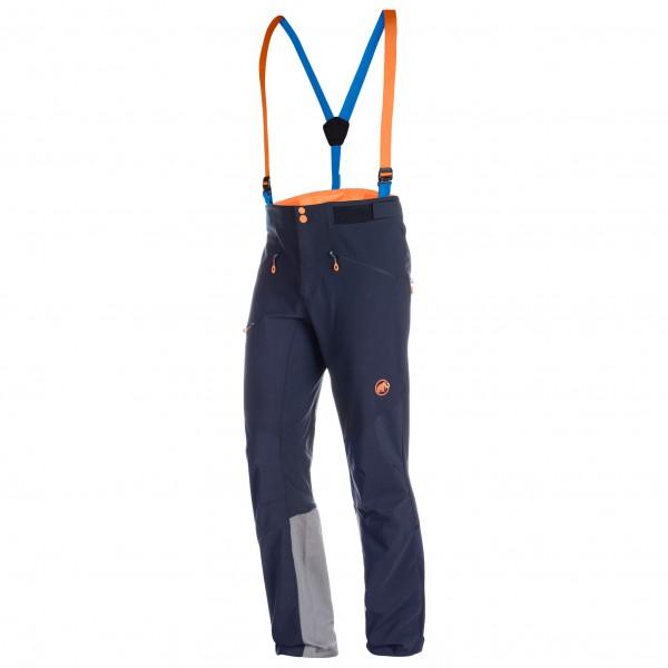 Mammut - Eisfeld Guide Softshell Pants - Tourenhose Gr 46 - Short schwarz/blau/grau Preisvergleich