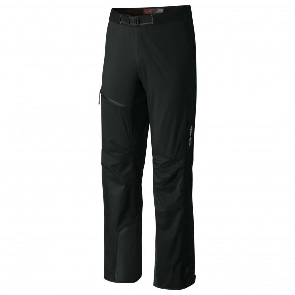 Mountain Hardwear - Quasar Lite II Pant - Hardshellhose Gr S - Regular schwarz