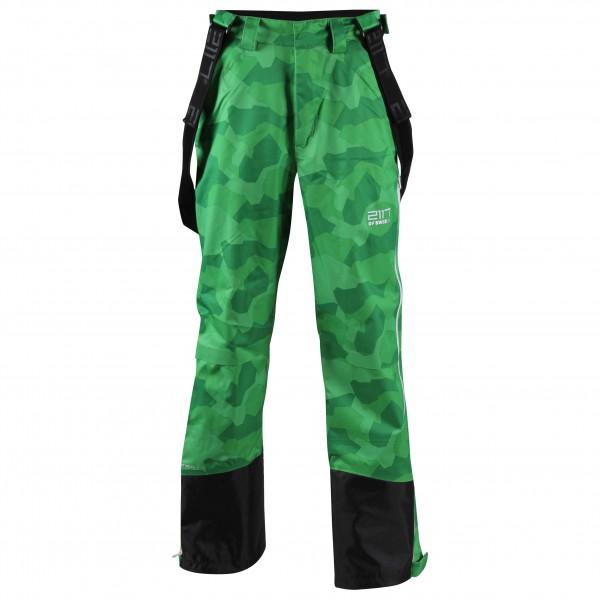 2117 of Sweden - Eco Padded Ski Pant Ope - Skihose Gr M grün/oliv/schwarz