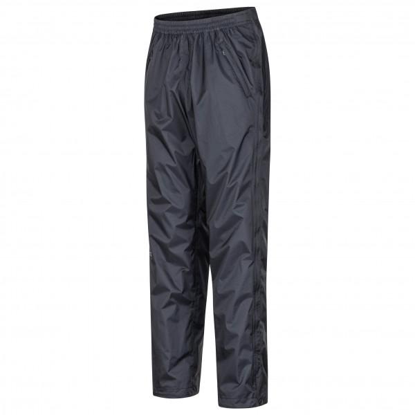 Marmot - PreCip Eco Full Zip Pant - Regenhose Gr M - Long schwarz 41530L-001-M