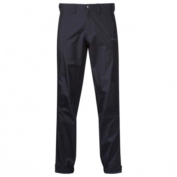 Bergans - Letto Longzip Pants - Regenhose Gr L - Regular schwarz 209192