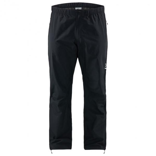 #Haglöfs – L.I.M Pants – Regenhose Gr L – Short schwarz#