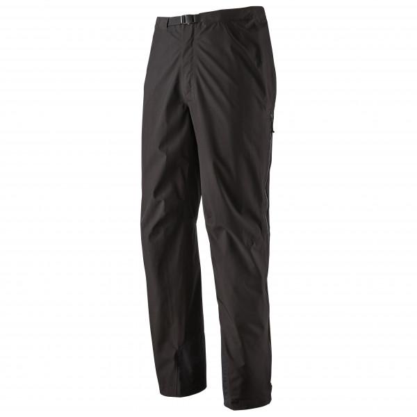 Patagonia - Calcite Pants - Regenhose Gr S schwarz 85000-BLK-S