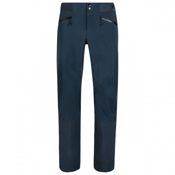 Mammut - Nordwand Pro Hardshell Pants - Mountaineering Trousers Size 46 - Long  Black/blue
