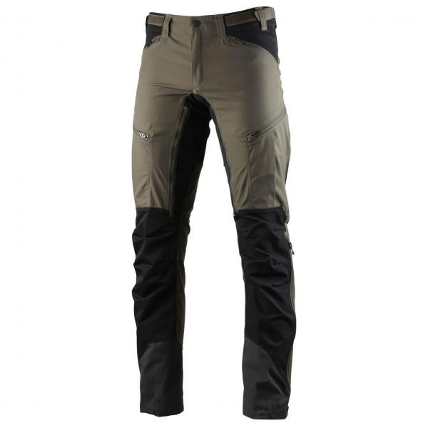 Lundhags - Makke Pant - Walking Trousers Size 58 - Short  Black/grey