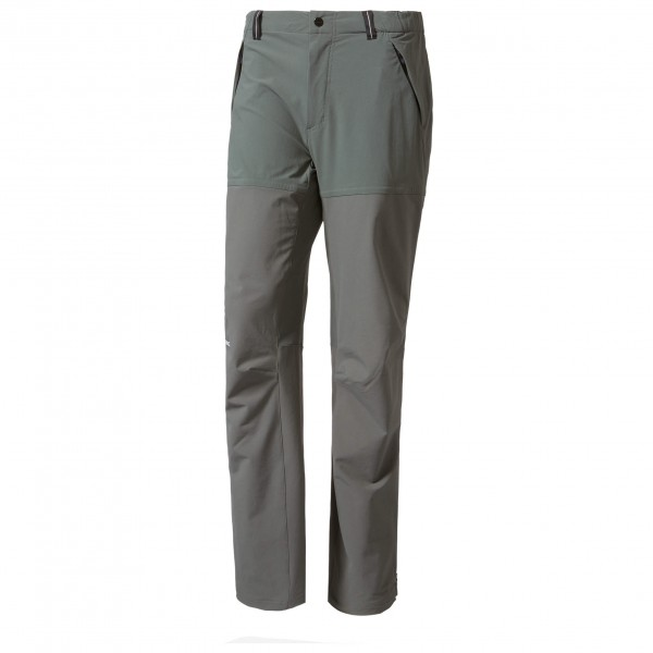 adidas Terrex Techrock Mountain Pants Softshellbroek maat 50 grijs-zwart