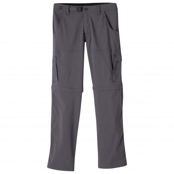 Prana - Stretch Zion Convertible - Climbing Trousers Size 35 - Length: 30  Black/grey