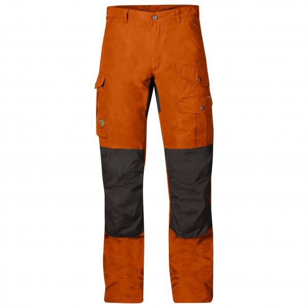 #Fjällräven – Barents Pro – Trekkinghose Gr 54 – Regular – Raw Length rot/schwarz#