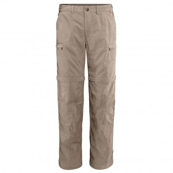 Vaude - Farley Zo Pants IV Trekkinghose Gr 56 Short grau/beige Sale Angebote Hornow-Wadelsdorf