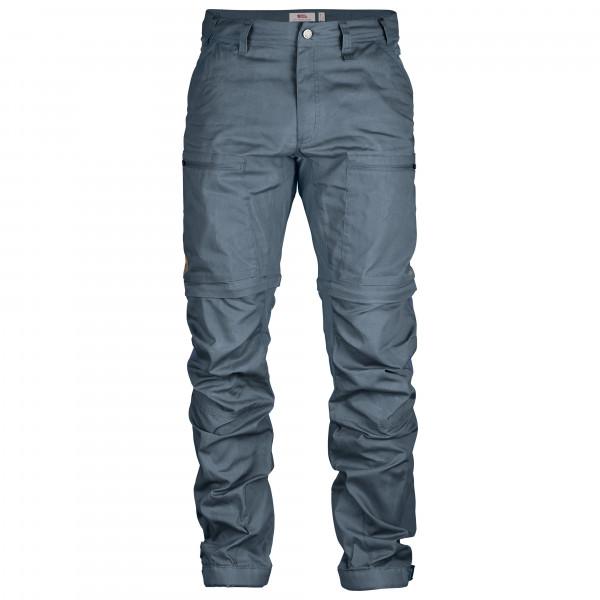#Fjällräven – Abisko Lite Trekking Zip-Off Trousers – Trekkinghose Gr 58 – Regular grau/blau#