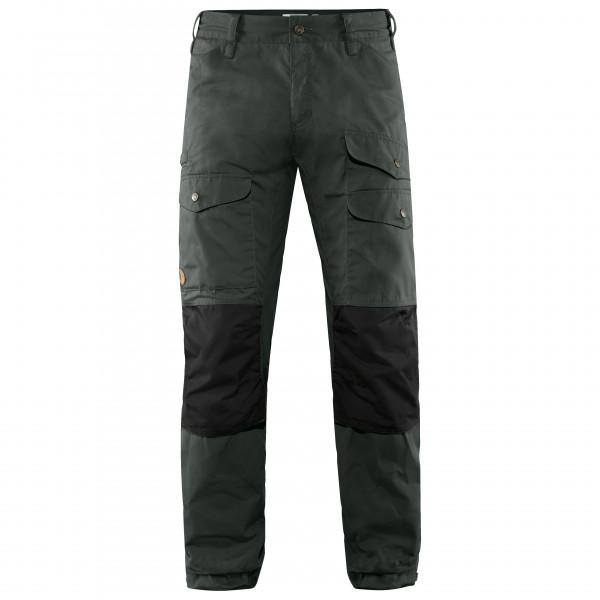 Fjllrven - Vidda Pro Ventilated Trousers - Walking Trousers Size 46 - Long - Fixed Length  Black