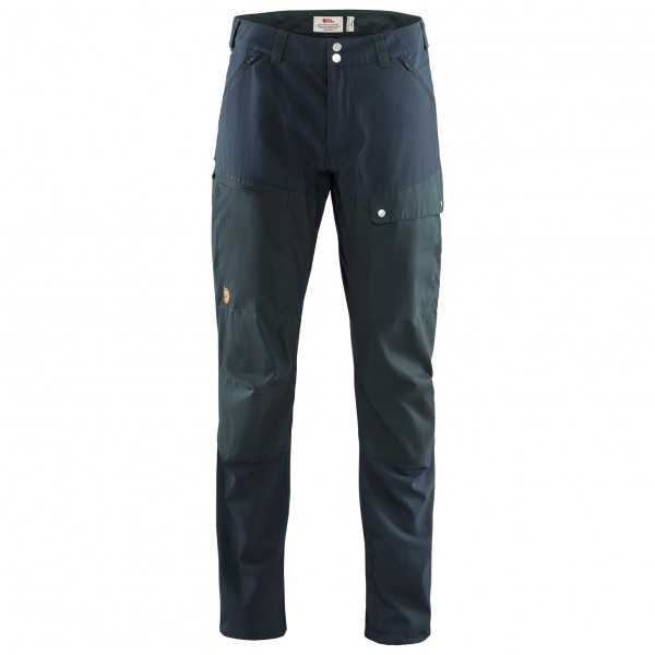 Fjllrven - Abisko Midsummer Trousers - Walking Trousers Size 50 - Long - Fixed Length  Black