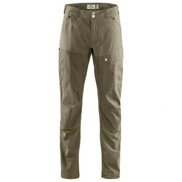 #Fjällräven – Abisko Midsummer Trousers – Trekkinghose Gr 56 – Long oliv/grau#