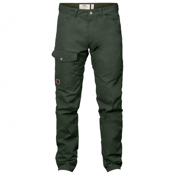 Fjllrven - Greenland Jeans - Jeans Size 50 - Long - Fixed Length  Black/olive