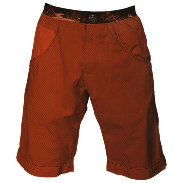 Nograd - Sahel Short Print Shorts Gr XL rot/braun
