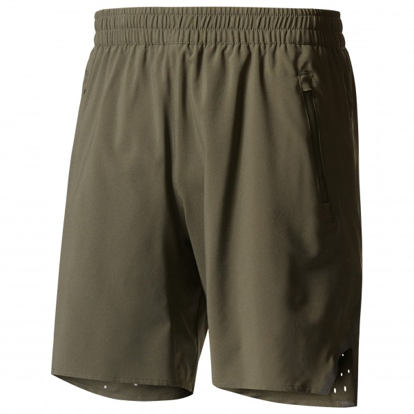 adidas Essentials Chest Logo Pullover Hood Fleece Hoodie maat M grijs