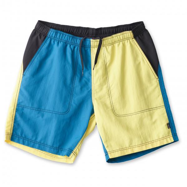 #KAVU – River Short – Shorts Gr XXL blau/gelb#