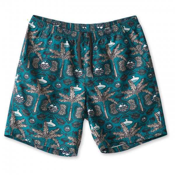 #KAVU – Sound Short – Shorts Gr L türkis/grau/schwarz/blau#