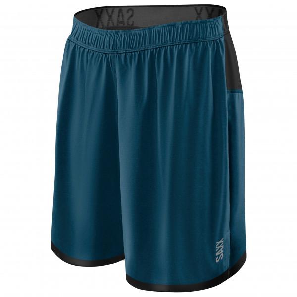 Saxx - Pilot 2n1 Shorts - Running Shorts Size Xl  Blue