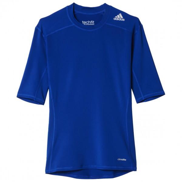 adidas - Techfit Base Short Sleeve Tee Gr S blau