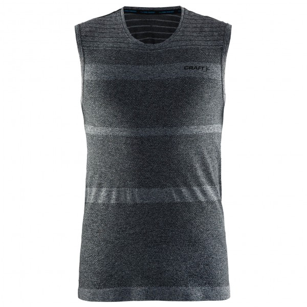 Craft - Cool Comfort RN SL - Kunstfaserunterwäsche Gr XL schwarz/grau
