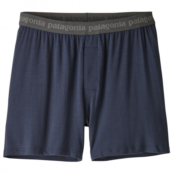 Patagonia - Essential Boxers - Everyday Base Layer Size Xl  Black/blue