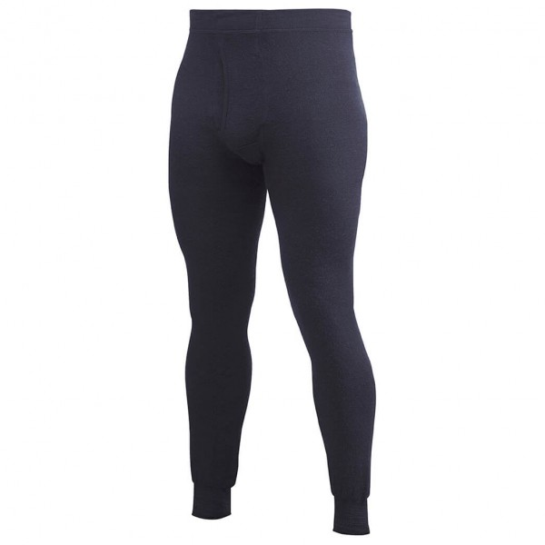 Woolpower - Long Johns With Fly 400 - Merinounterwäsche Gr XL schwarz