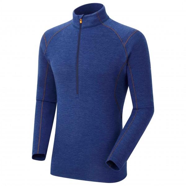 Montane - Primino 220 Zip Neck - Merinounterwäsche Gr M blau