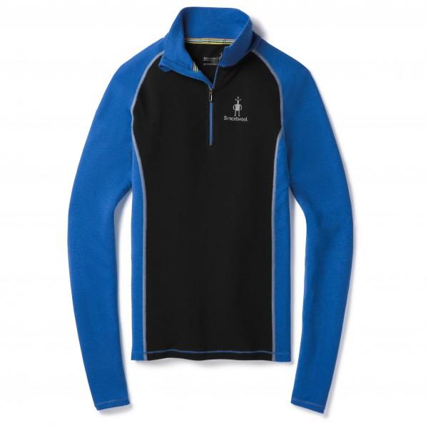 Smartwool - Merino 200 Baselayer 1/4 Zip - Merinounterwäsche Gr S blau/schwarz