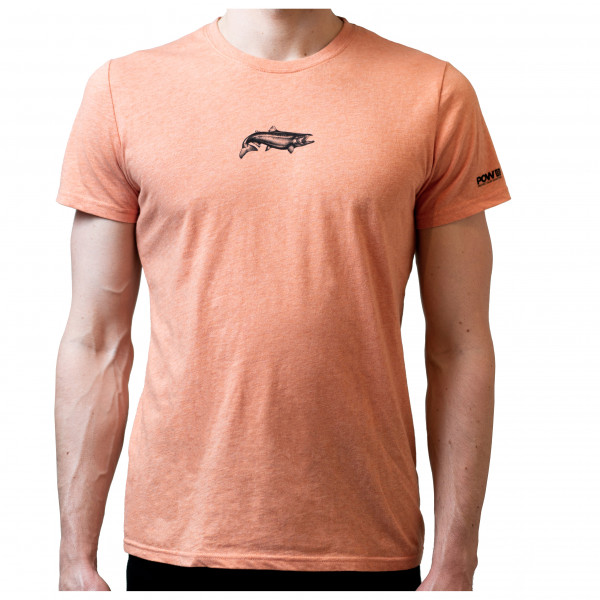 #Northern Playground – The Salmon – Pow Eco Tee Gr S beige/braun#